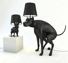 floor lamps for office. resin dog poo hall bedroom lamp modern office unique creative personality laden big floor lamps for l