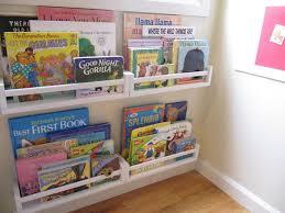 Spice rack bookshelves