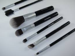 sephora luxe anti bacterial brush set4