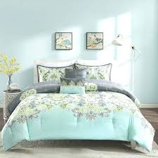 teal and gray bedding aqua yellow grey decorate my house king blue purple