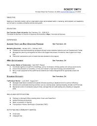 Resume Economics Resume