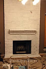 How to Paint a Brick Fireplace \u2013 The Bajan Texan