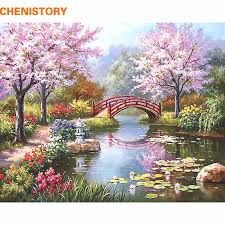 CHENISTORY Fairyland Romantic DIY <b>Painting</b> By Numbers ...