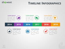 Timeline Slide Template Timeline Infographics Templates For Powerpoint
