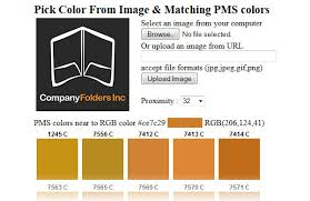 Rgb To Pms Color Conversion Chart Pms Color Printing Tips For Finding Working With Pantone