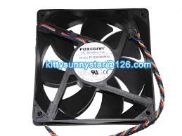 online buy whole foxconn fan from foxconn fan new original foxconn 12038 pv123812dspf 01 12v 0 9a 150cfm nn495 4wire pv123812dspf01 case fan