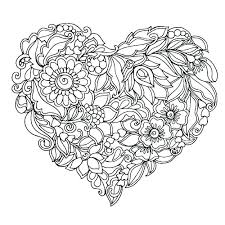 Marvellous Cross Coloring Page Printable Hearts And Crosses Coloring