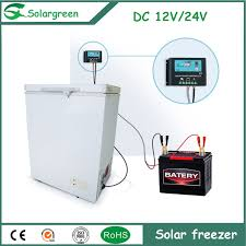 China <b>45W DC12V</b>/24V Power Type <b>High</b> Price Solar Chest Freezer ...