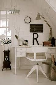 shabby chic home office. perfect chic this office space has a rustic shabby chic feel and we love it for shabby chic home office