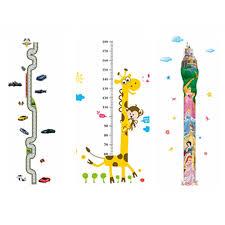 Us 3 32 17 Off Zs Sticker Rangefinder Growth Chart Stickers Meter Ruler Decor Kids Room Wall Stickers Children Wall Decals Height Gauge Vinyl In
