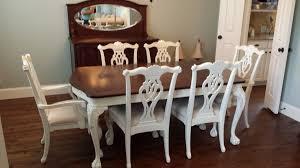refinish dining room table design