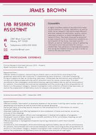 Full Colour Best Resume Template 2016 Resume Offered Research
