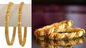 New Latest Gold Bangles Design Latest Gold Bangles Design 2018 Fancy Jewelry Design Images Photos Designer Gold Bangles
