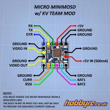 micro minimosd for naze32 multiwii osd kv team mod picture of micro minimosd for naze32 multiwii osd kv team mod