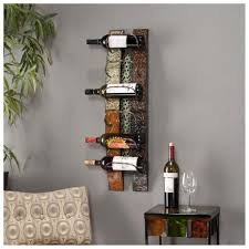 ... Modern Wine Racks Wall : Wonderful Home Furniture Design Of Unique Wall  Mount Wine Rug Plus ...