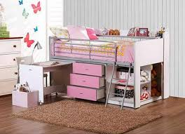 Kids White Bedroom Furniture Twin Bed Frame Fo 7475   ecobell.info