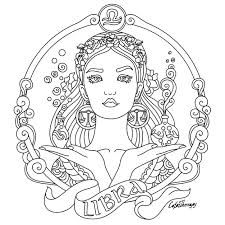 The twelve symbols of the zodiac. Pin On Zodiac Signs Colouring Coloring Pages