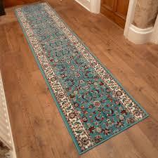 light blue hall runner rug persian carpet runners uk