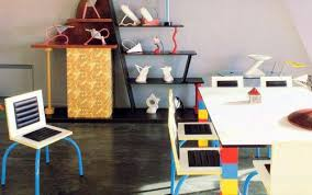 postmodern interior architecture. Karl Lagerfeld\u0027s Memphis Dining Room Postmodern Interior Architecture E