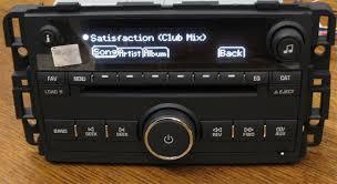 oem radios vehicle radio & electronic original replacement parts 2014 Gmc Acadia Radio Wiring Diagram new~ unlocked~ oem 2007 08 09 gmc acadia 6 cd changer radio mp3 aux ipod input 2014 gmc sierra stereo wiring diagram