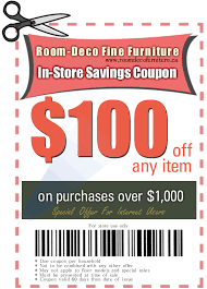 room deco furniture. Start Saving With This Ad! Just Print And Present It Too Us For Amazing Savings! Room Deco Furniture
