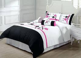pink and black bedding king size white crib sets hot damask
