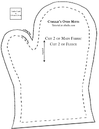 Oven Mitt Pattern Adorable Sewing Printables Free Sew Your Own Oven Mitts In 48 Easy Steps