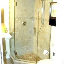 corner shower ideas screens custom