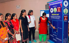 Sanitary Napkin Vending Machine Extraordinary Inauguration Of Sanitary Napkins Vending Machine In Colleges Of DU