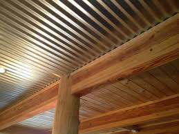 corrugated ceiling in basement pictures to pin on
