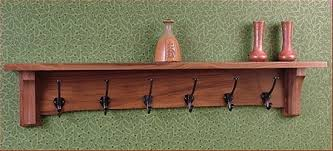 Arts And Crafts Coat Rack Pasadena 100 Hook100'' Coat Rack OPHH 11