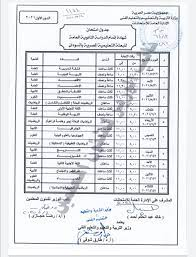 وزير التعليم يعتمد جدول امتحان الثانوية العامة للبعثة التعليمية المصرية فى  السودان - اليوم السابع