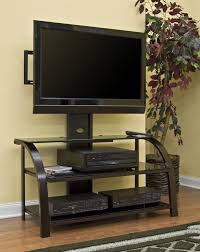 corner tv stand with mount. open shelves black tone flat screen tv cabinet combined yellow painted wall, gorgeous corner tv stand with mount