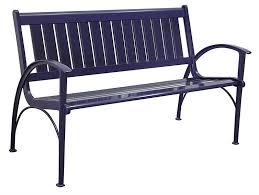 Cast Iron Outdoor BenchGarden Metal Bench