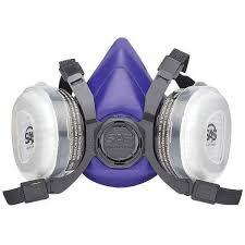 sas safety bandit large dual cartridge respirator mask on 2040 parts com
