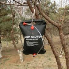 2018 20l 5 gallon outdoor portable camping shower water bag solar shower from xiamenshoes 47 37 dhgate com