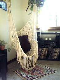 indoor hammock chair swing chair for bedroom photo 6 of 7 indoor hammock swing chair bedroom