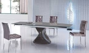 dining table modern expandable dining table  pythonet home furniture