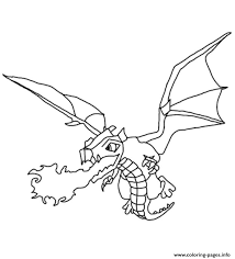 Small Picture Print Dragon Clash Of Clans Coloring Pages Free Printable With