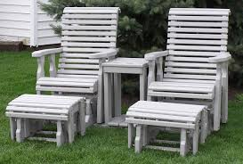 poly outdoor furniture roll back set