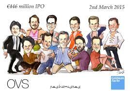 original business finsncisl deal team tombstone award caricature