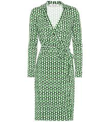 New Jeanne Two Silk Jersey Wrap Dress