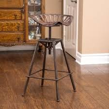 rustic bar stools. Chapman 28-inch Iron Saddle Copper Barstool By Christopher Knight Home Rustic Bar Stools