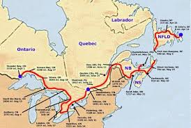 my essay on terry fox a canadian hero the battle against cancer a map of terry s journey