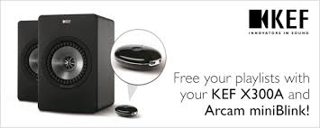 kef speakers bluetooth. free your playlists with kef x300a and arcam miniblink! kef speakers bluetooth