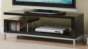 Tv Stands For Lcd Tvs Amazoncom Poundex Tv Stand Black Kitchen Dining
