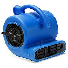 carpet drying fan. b-air vp-25 1/4 hp air mover for water damage restoration carpet drying fan t