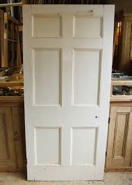 painted six panel georgian door