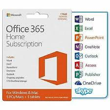 Microsoft Office 365 Pricing Microsoft Office 365 Home Retail 5 Full Version Windows Mac 6gq00093