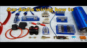how to connect multiple amps and wire up a system how to connect multiple amps and wire up a system